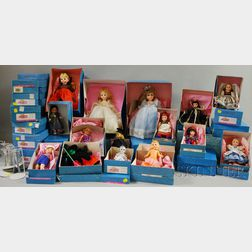 Thirty-seven Boxed Madame Alexander Dolls