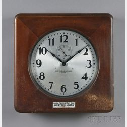 Two Self Winding Clock Co. Clocks