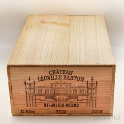 Chateau Leoville Barton 2009, 12 bottles (owc)
