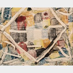 André Lanskoy (Russian/French, 1902-1976)    Abstract