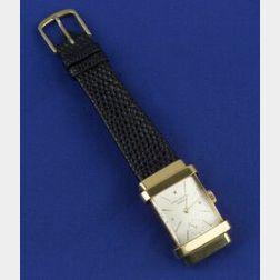 Gentleman's 18kt Gold Wristwatch