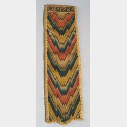 Embroidered Wool and Silk Needle Case