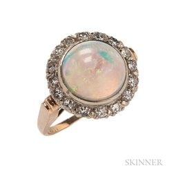 14kt Gold and Opal Ring