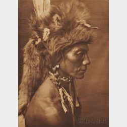 Five Unframed Photogravures by Edward S. Curtis.