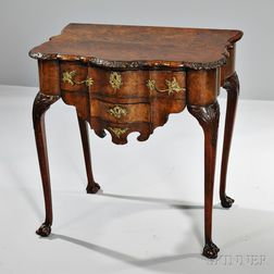 Dutch Rococo Walnut Table