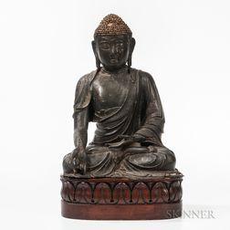 Bronze Statue of Medicine Buddha