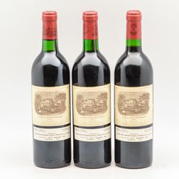 Chateau Lafite Rothschild 1983, 3 bottles