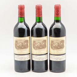 Chateau Lafite Rothschild 1983, 3 bottles
