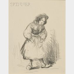 Robert Henri (American, 1865-1929)      Portrait of a Woman
