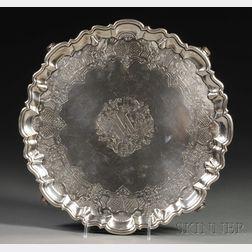 George II Silver Salver