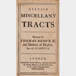 (Philosophy, English), Brown, Thomas