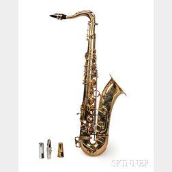 French Tenor Saxophone, Henri Selmer, Paris, 1961, Model Mark VI