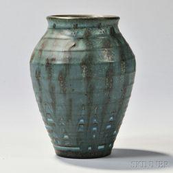 W.E. Hentschel Rookwood Pottery Vase
