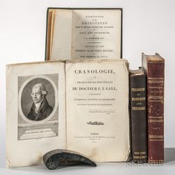 Phrenology, Four Volumes.