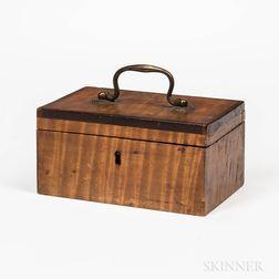 Small Tiger Maple Box