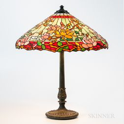 "Wilkinson Mosaic Glass ""Magnolia"" Table Lamp"
