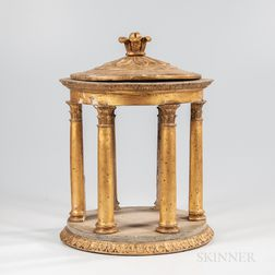 Italian Gilt-gesso Table Temple