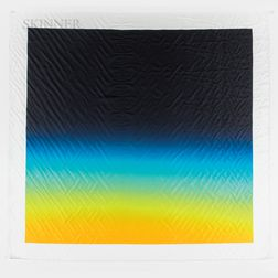 After Hiroshi Sugimoto (Japanese, b. 1948)      Couleurs de l'ombre Carré 053  /A Scarf Designed for Hermès