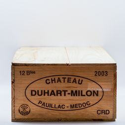 Chateau Duhart Milon 2003, 12 bottles (owc)