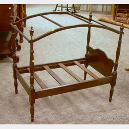 Doll's Federal-style Maple Tall Post Bed with Canopy