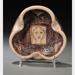 Guido Gambone (Italian 1906-1969) Pottery Dish
