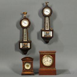 Four Lever Escapement Clocks