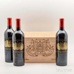Chateau Palmer 2012, 6 bottles (owc)