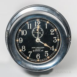 Seth Thomas Mark I Deck Clock
