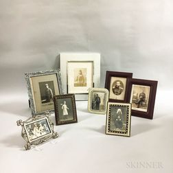 Small Group of Russian Imperial Photographs, Carte-de-Visites, and Postcards.     Estimate $200-400