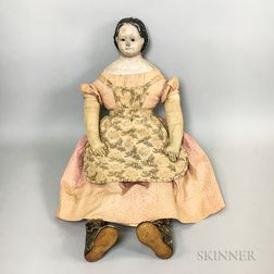 Large Greiner Composite Doll