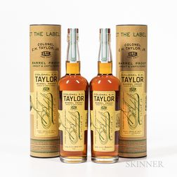 Colonel EH Taylor Barrel Proof, 2 750ml bottles (ot) Spirits cannot be shipped. Please see http://bit.ly/sk-spirits for more info.