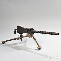 Inert Browning 1919A4 Belt-fed Machine Gun and Tripod