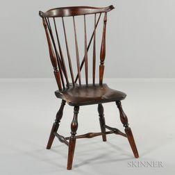 Braced Fan-back Windsor Side Chair
