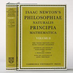 Newton, Sir Isaac (1643-1727) Philosophiae Naturalis Principia.