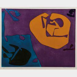 Patrick Heron (British, 1920-1999)      Night Violet