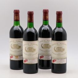 Chateau Margaux 1983, 4 bottles