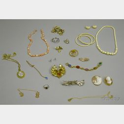 Group of Assorted Costume and Estate Jewelry