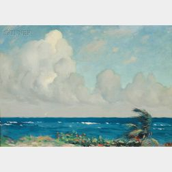 Hermann Dudley Murphy (American, 1867-1945)      The Blue Sea