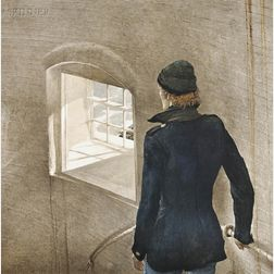 Andrew Wyeth (American, 1917-2009)      The Reefer.
