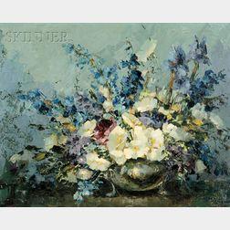 Margarita Hahn Vidal (American, b. 1919)      From My Mother's Garden