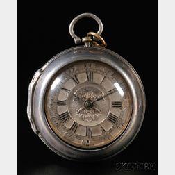 Thomas Johnson Silver Pair Case Watch