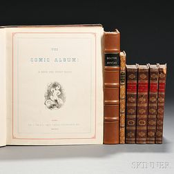English Caricatures, Seven Volumes.