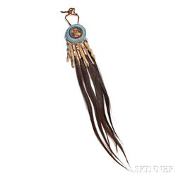 Blackfeet Hair Decoration