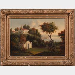 School of Victor de Grailly (New York/France, 1804-1889)      Mount Vernon