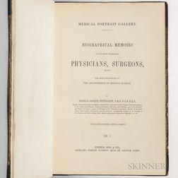 Pettigrew, Thomas Joseph (1791-1865) Medical Portrait Gallery.