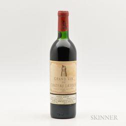 Chateau Latour 1971, 1 bottle