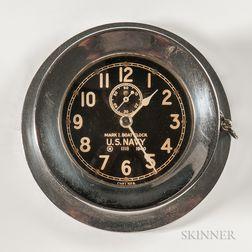 U.S. Navy Chelsea Boat Clock