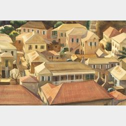 Mitchell Jamieson (American, 1915-1976)    Rooftops