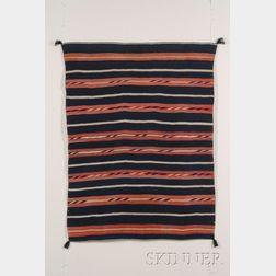 Southwest Late Classic Moki Blanket