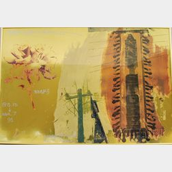 Robert Rauschenberg (American, 1925-2008)      Works Feb 13 - Mar 7 91, Knoedler...